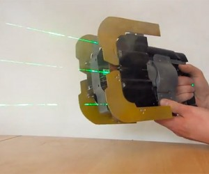 Dead Space Plasma Cutter Replica Uses Real Lasers to Slice Through Alien Limbs