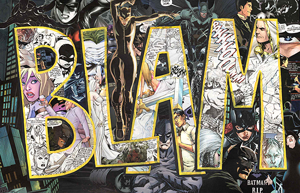 Collages Made from Comic Book Pages: Typographic Violence - Technabob