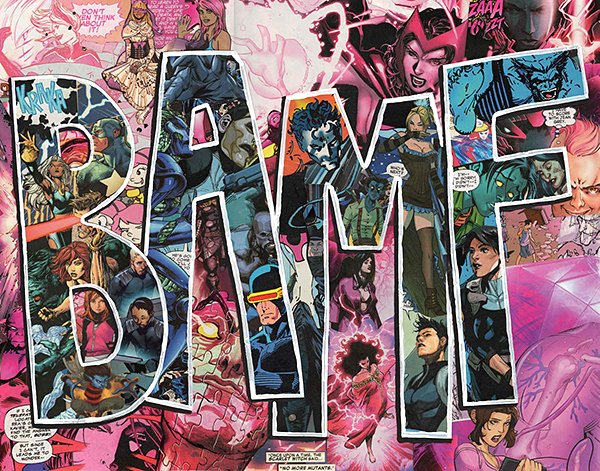 Collages Made from Comic Book Pages: Typographic Violence