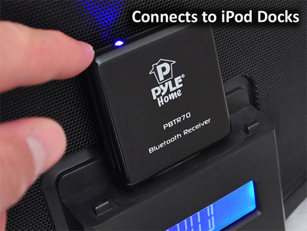 pyle 3 Pyle Bluetooth Receiver Turns Old iPod Docks into Wireless Speakers