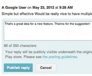 Google Play Developers Can Now Reply to User Reviews: Let the Flame Wars Begin!