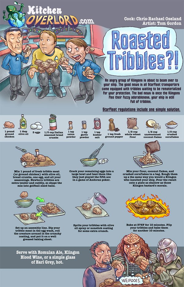 roasted tribbles