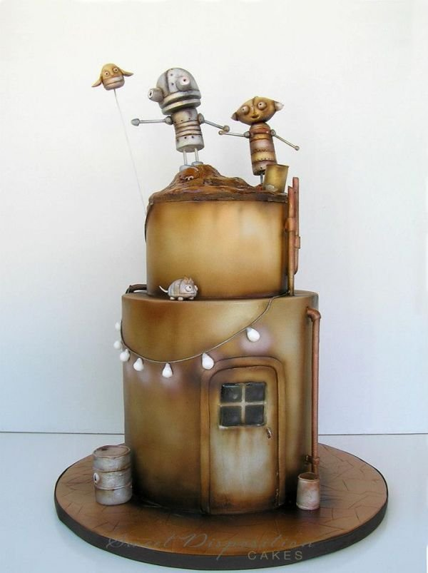 Machinarium Robot Cakes: A Point-and-Click Adventure for Your Mouth
