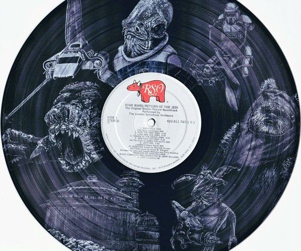 Amazing Star Wars Art Records: The Empire Got its Grooves Back