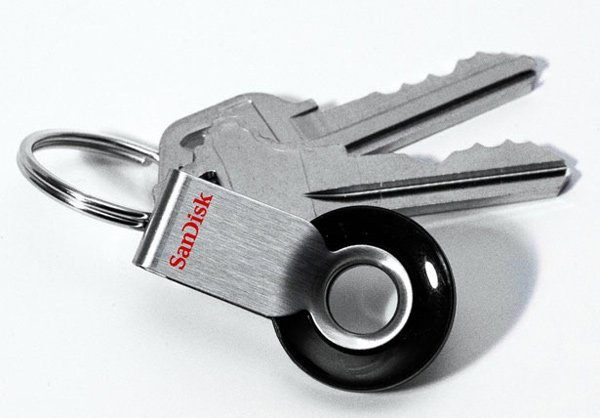 sandisk cruzer orbit keys photo