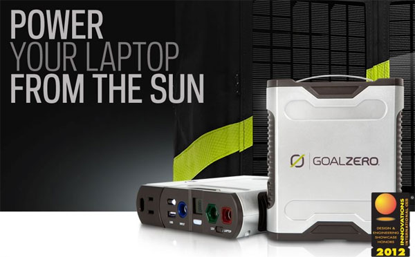 Sherpa 50 Solar Charger Keeps Your Gadgets Powered up, away from the Outlet
