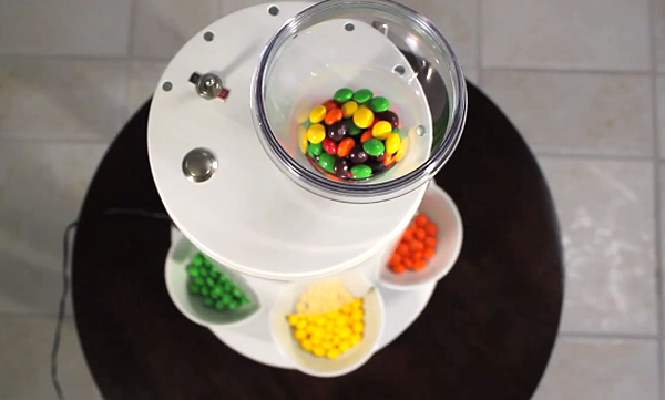 Skittles Sorting Machine 3 Sorts Other Types of Candy, Needs Its Name Sorted Out