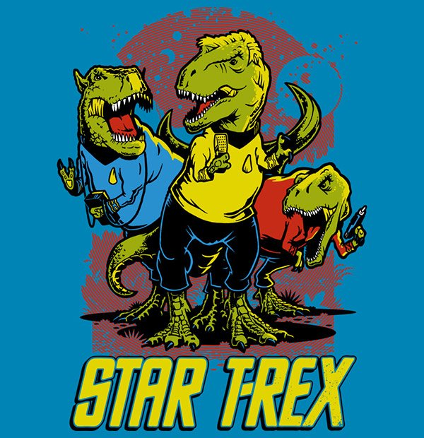 star t rex t shirt 2