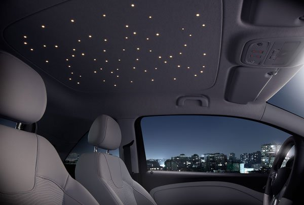 Opal ADAM Gets LED Starlight Sky Option: Twinkle, Twinkle, Little Car