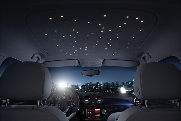 starry headliner opel 2