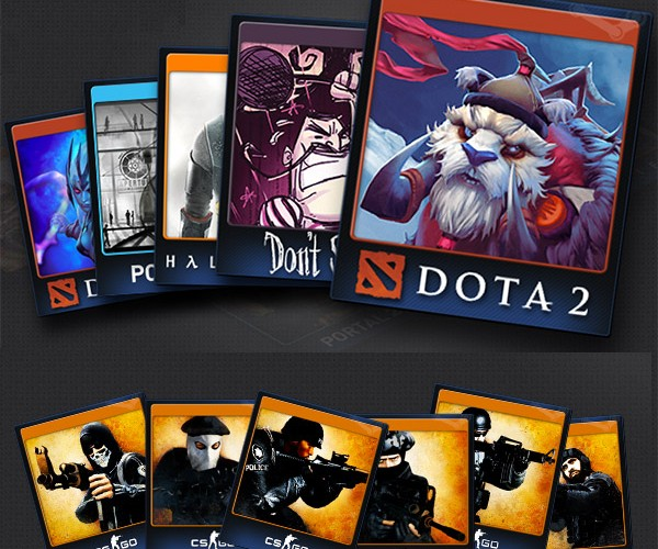 Steam Trading Cards: Valve the Gathering