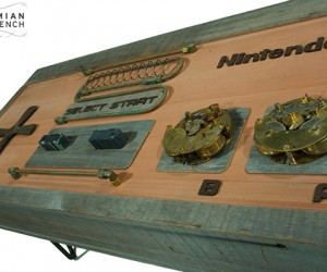 Steampunk Nintendo Controller Coffee Table: NESSSS