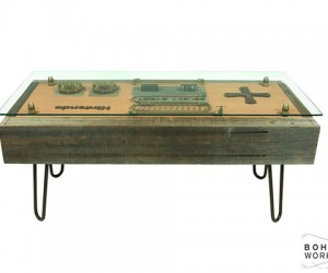 steampunk nintendo nes controller coffee table by bohemian workbench 5 300x250