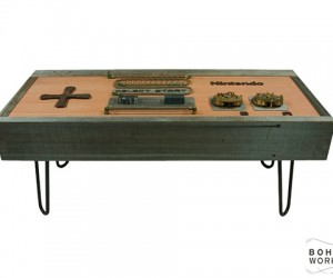 steampunk nintendo nes controller coffee table by bohemian workbench 6 300x250