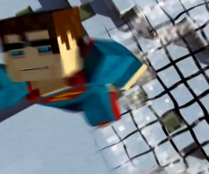 Man of Steel: Minecraft Style
