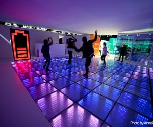 Dance Floor That Generates Electricity: Party Power