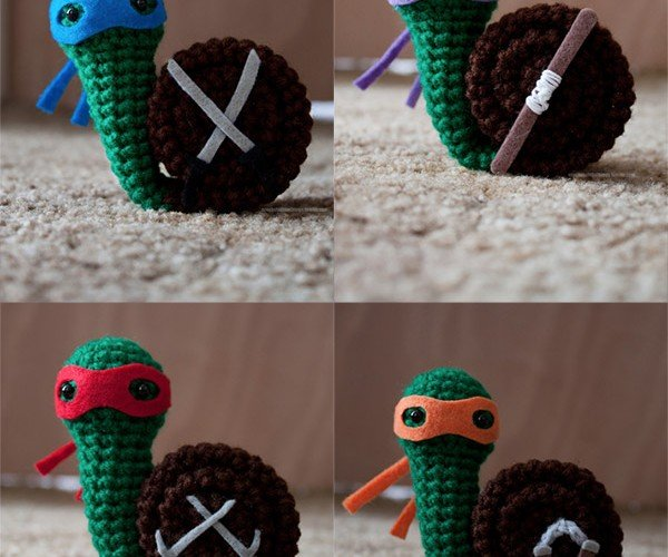 Teenage Mutant Ninja Crochet: Heroes in a Snail Shell