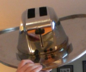 Toaster Hat Keeps Your Head Toasty
