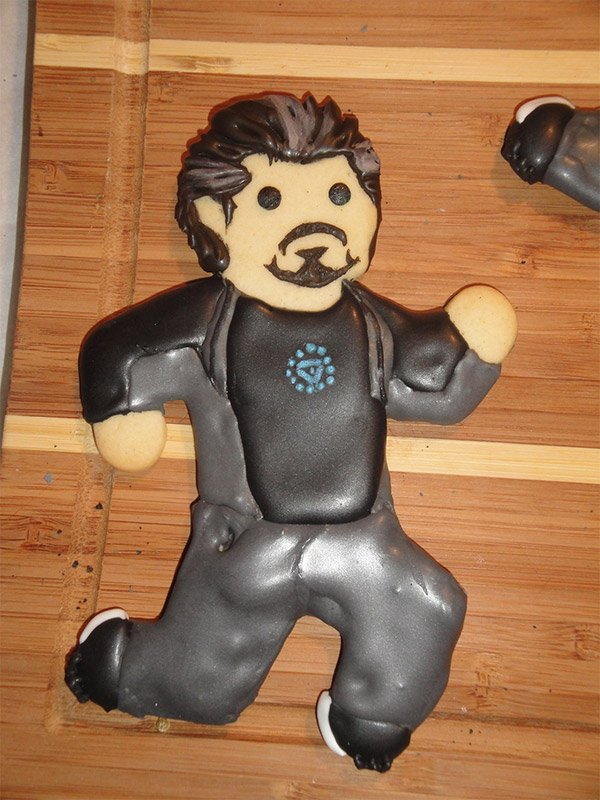 tony stark cookie