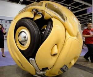 1953 Volkswagen Turned into a Ball Aka the Bumblebee Armadillo