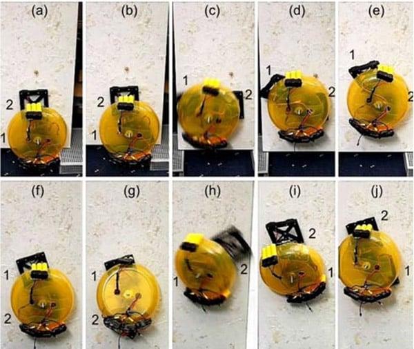 wall climbing robot 2