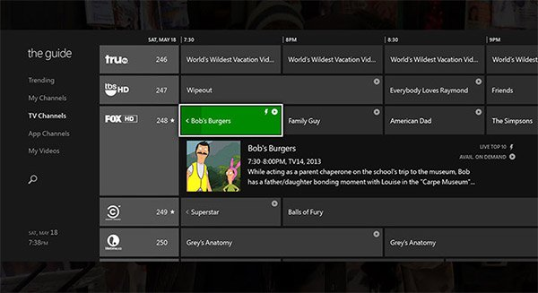 xbox one tv guide 2