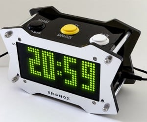 Xronos Talking LED Alarm Clock: It's Arcade Time!