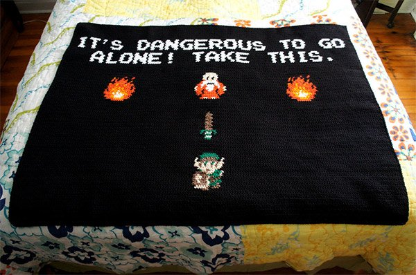 It's Dangerous to Go Alone! Take This Throw.