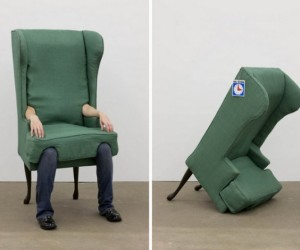 Human Armchair Disguise: Come Sit on My Lap