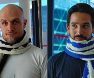 Neuro Knitting's Scarves Will Cover Your Neck in Brain Waves
