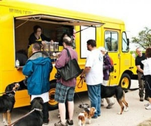 Doggy Food and Treat Trucks Popping up All Over the Place