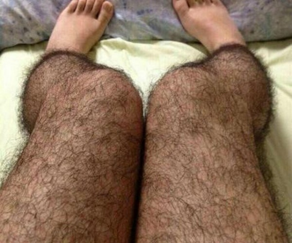 These Stockings Give You Instantly Hairy Legs