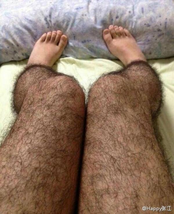 Hairy Leg Stockings