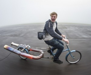 Don't Try This at Home: Norah the Jet Bicycle