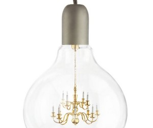 King Edison Pendant Lamp: Which Came First, the Light Bulb or the Chandelier?