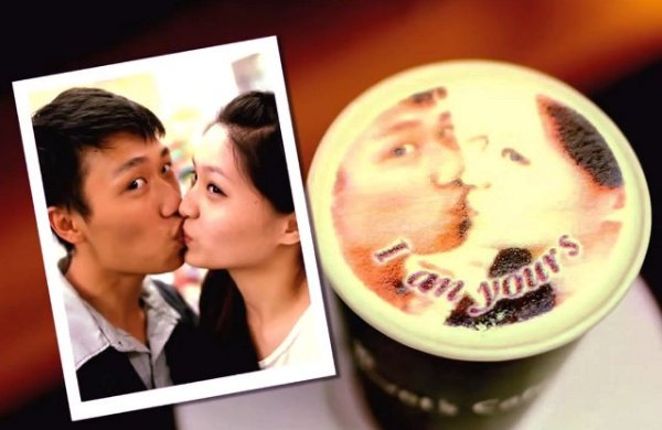Latte Printer Lets You Drink Your Favorite Memories