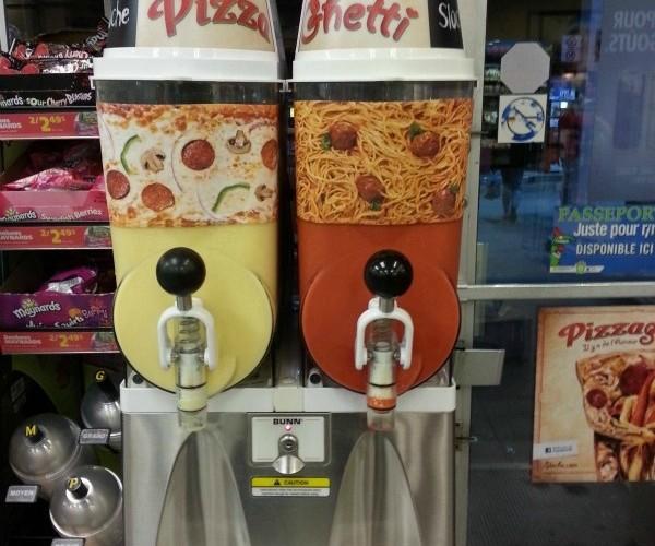Pizzaghetti Sloche: Slurp Your Pizza and Drink Your Spaghetti