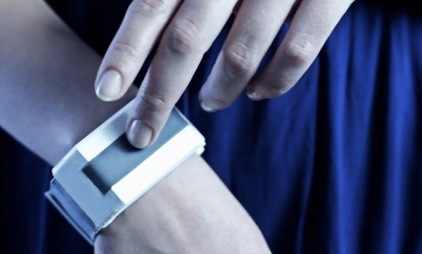 Tactilu Sensor Bracelet: Touch People from a Distance