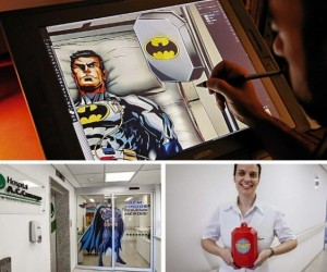 Superheroes Join Cancer Center's Fight Against the Big 'C'