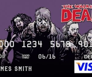 The Walking Dead Debit Cards: Because Zombies Don't Carry Cash