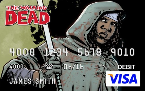 Walking Dead Credit Card2