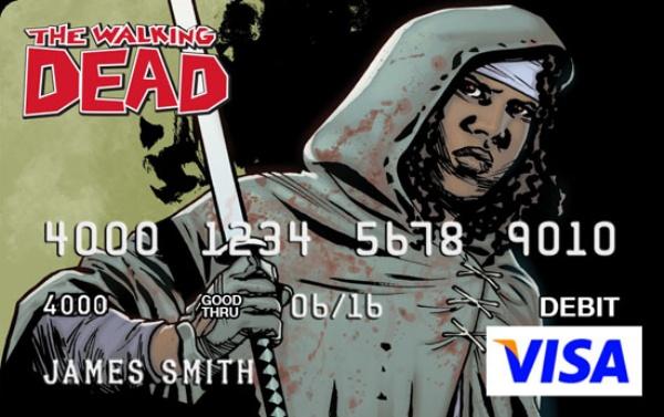 Walking Dead Credit Card2