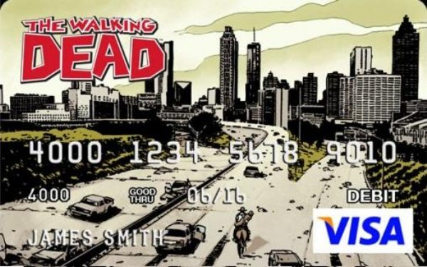 Walking Dead Credit Card3