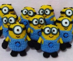 Crocheted Minions: Despicable Amigurumi
