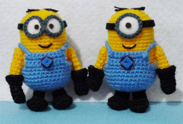 Amigurumi Minion Tarifi : Crocheted Minions: Despicable Amigurumi - Technabob