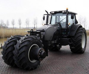 Tumbler Tractor: Uncle Batman Had a Farm…