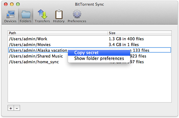 bittorrent sync file storage service 3