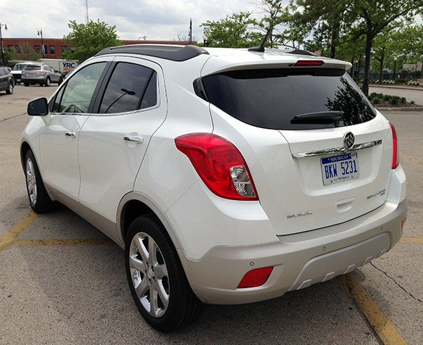 buick encore 34 rear