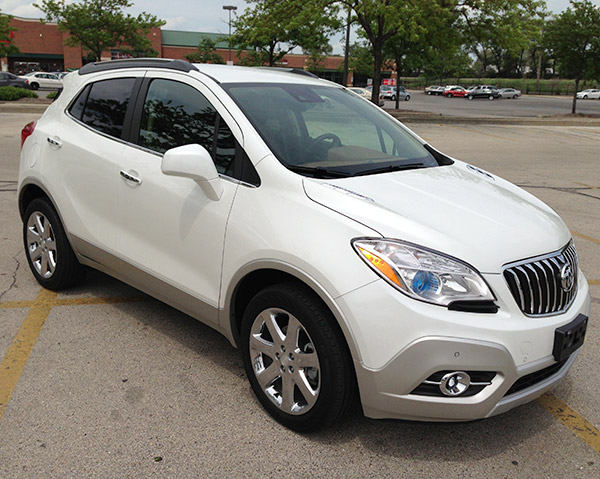 2013 Buick Encore Crossover Wraps Tech, Luxury and Value in a Pleasant Package