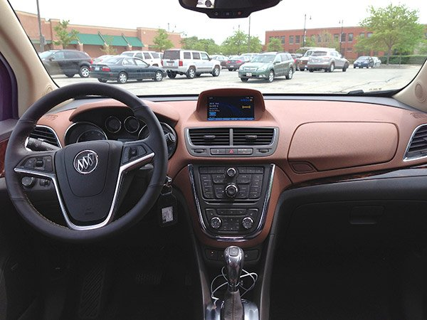 buick encore interior dash 2